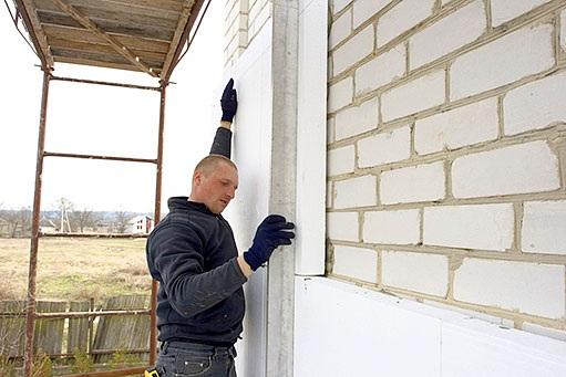 Как утеплить дом снаружи пенопластом своими руками фото
