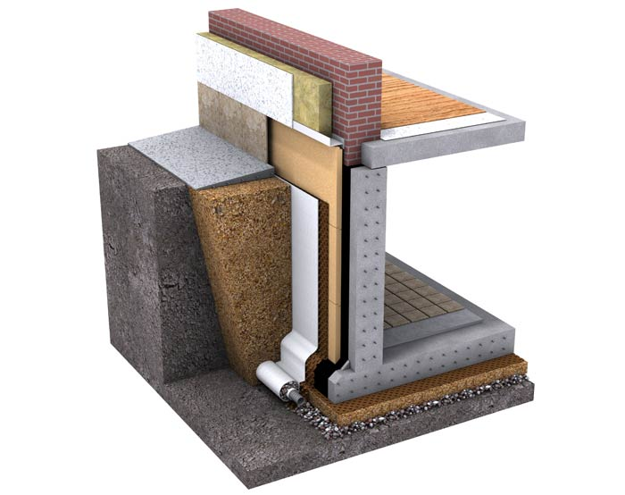 Laine bois et fibre Isonat, isolation thermique et phonique murs