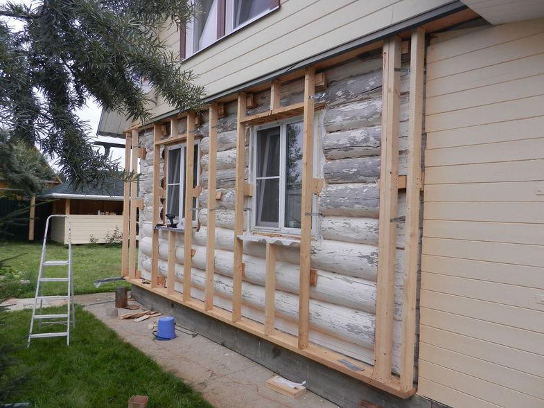 Утепление деревянного дома фото