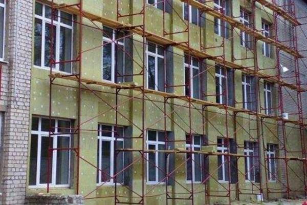 Теплоизоляция для фасадов под тонкослойную штукатурку
