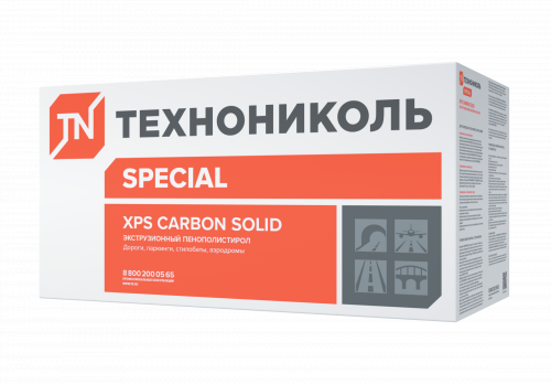 Технониколь XPS Carbon Solid тип А