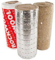 Rockwool WIRED MAT 105 ALU 1